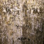 1. Femme qui change 2015.Terre d'Islande,Terre d'Amérique du Nord(Death Valley)Terre Suisse,Sable Suisse 140x120 cm