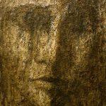 3. Man of the origins 2016. Terre d'Italie ( Lavello,Basilicata ), Terre Suisse. 120x100 cm
