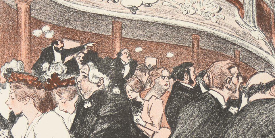 Steinlen_Théâtre