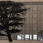 Vaudoise Assurances, 2019. l'étranger, 60 x 90 cm.