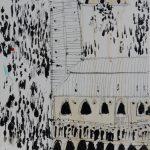 venezia-30x30cm-technique-mixte-sur-toile-2013