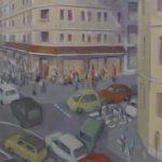 Avant la Chute, 2015, triptyque 87 x 170 (3 toiles de 85 x 55 cm ) - Copie