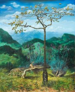 """""""Le Charme"""", 2013, huile sur toile, 160 x 130 cm"""
