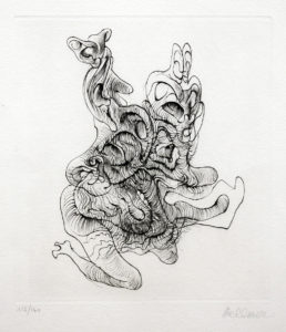 BELLMER, 24 X 21 (image), 57 x 38 (feuille) - Copie