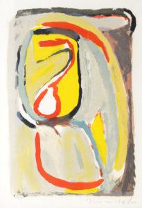 Van Velde, Matin, 1969, 55.5 x 38 cm (image), 83.5 x 64 cm (cadre), réf. no. 54