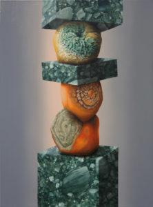«Astoria», 2018 Huile sur toile, 73 x 54 cm