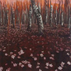 «Acide», 2010 Huile sur toile, 60 x 60 cm