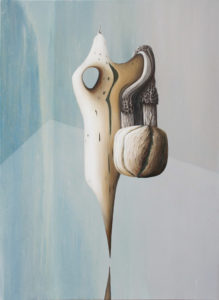 «Belair», 2018 Huile sur toile, 100 x 73 cm