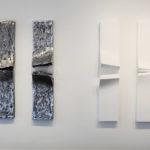 """""""Division"""", 2017, alu. et tech. mixte, 6 pièces de 80 x 20 cm."""