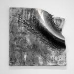 """""""Sirocco"""", 2005, alu, 80 x 80 cm."""