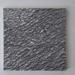 """Sea 2"", 2007, alu., 30 x 30 cm."