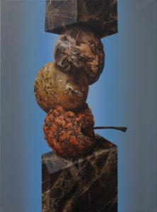 «Imperator», 2018 Huile sur toile, 73 x 54 cm