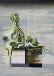 «Sans Soucis», 2017 Huile sur toile, 70 x 50 cm