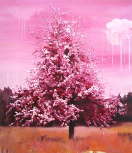 «Sucré», 2010 Huile sur toile, 70 x 60 cm