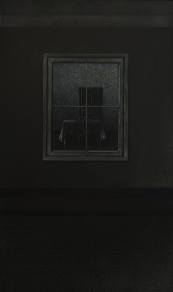 La Casa I, 2016, huile sur bois