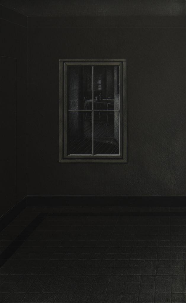 La Casa II, 2016, huile sur bois